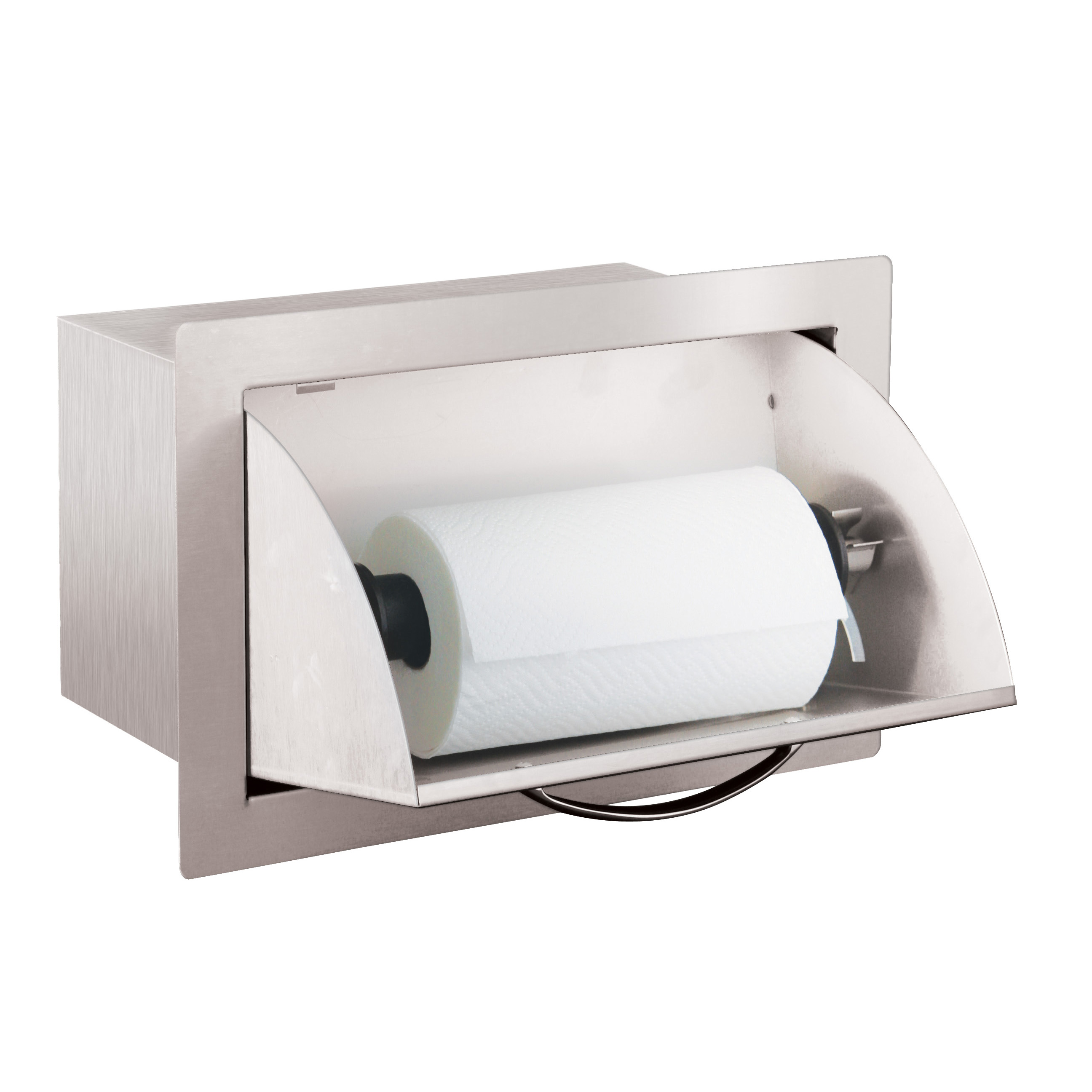 Paper towel holder for outdoor kitchen wow blog for Outdoor towel caddy