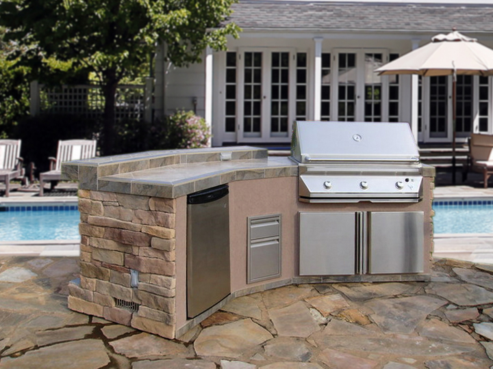 how to build outdoor kitchen island outdoor kitchen gallery outdoor kitchen factory 8520