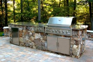 Backyard Kitchen Hempstead