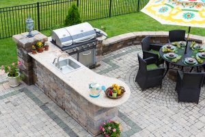 Backyard Kitchen Long Island