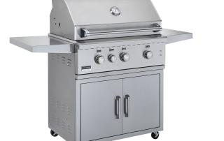 Broilmaster BSG343 Stainless Gas Grill in Cart