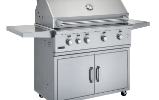 Broilmaster BSG424 Stainless Gas Grill In Cart