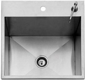 """24"""" Drop-In Outdoor Sink"""